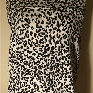 Lularoe Cassie black and white cheetah print
